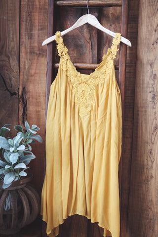 Honey Mustard Dress - Oh Deer Boutique