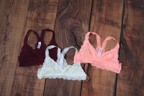 Lace Bra Top - Oh Deer Boutique