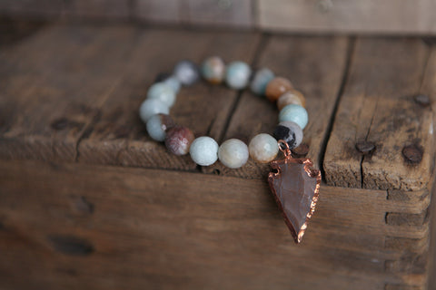 Amazonite Bracelet - Oh Deer Boutique