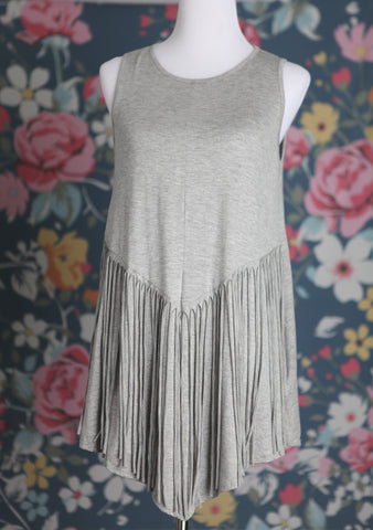 Fringe Bottom Tunic - Oh Deer Boutique