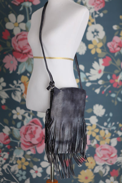 Leather Fringe Purse - Oh Deer Boutique