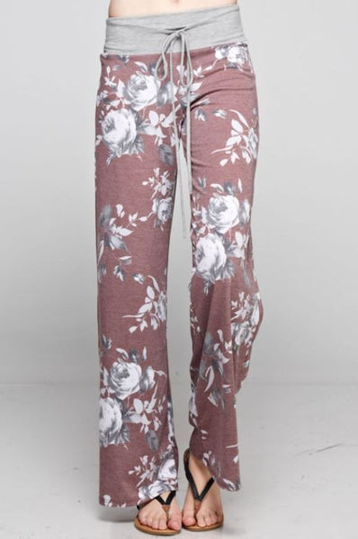 Floral Lounge Pant - Oh Deer Boutique