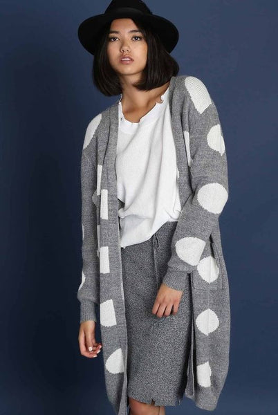 Polka Dot Cardigan - Oh Deer Boutique