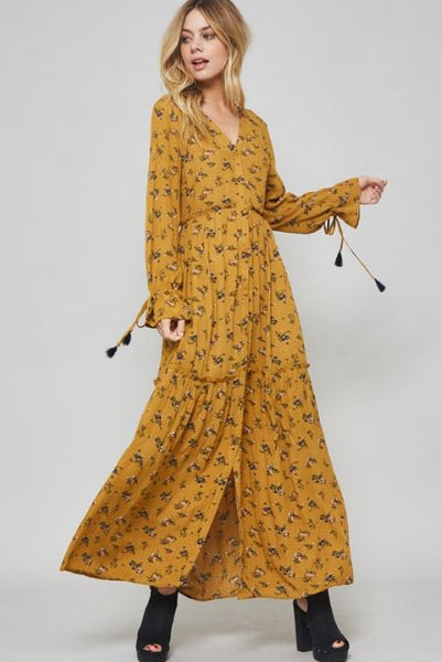 Wild Flower Maxi - Oh Deer Boutique