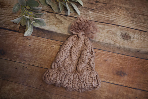 Chunky Knit Beanie - Oh Deer Boutique