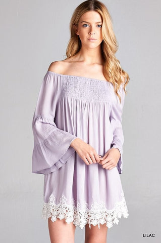 Lilac Love Tunic - Oh Deer Boutique