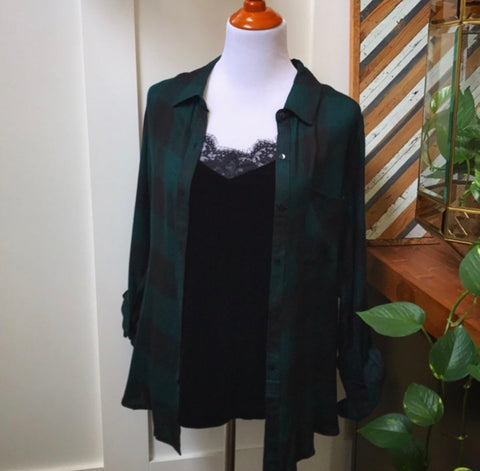 Green Plaid - Oh Deer Boutique