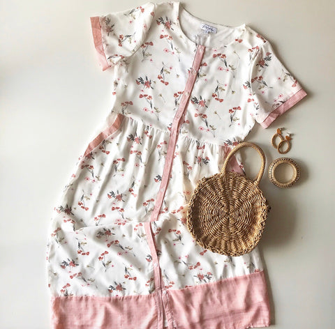 Floral Button Down Dress
