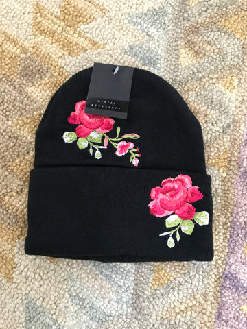 Embroidered Hat - Oh Deer Boutique