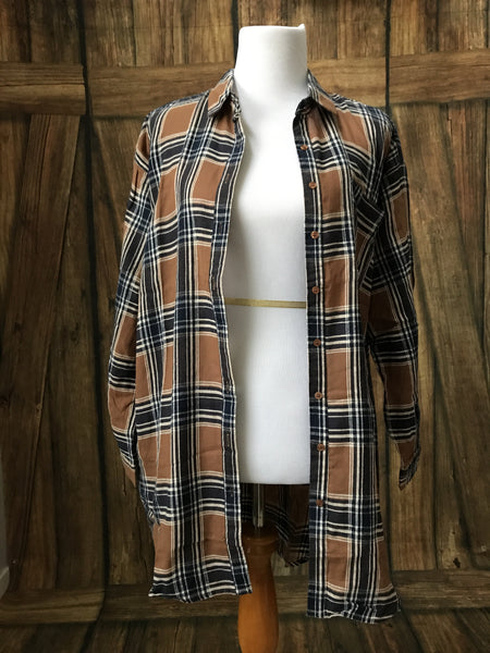 Screen Sprint Flannel - Oh Deer Boutique
