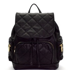 Black Backpack - Oh Deer Boutique