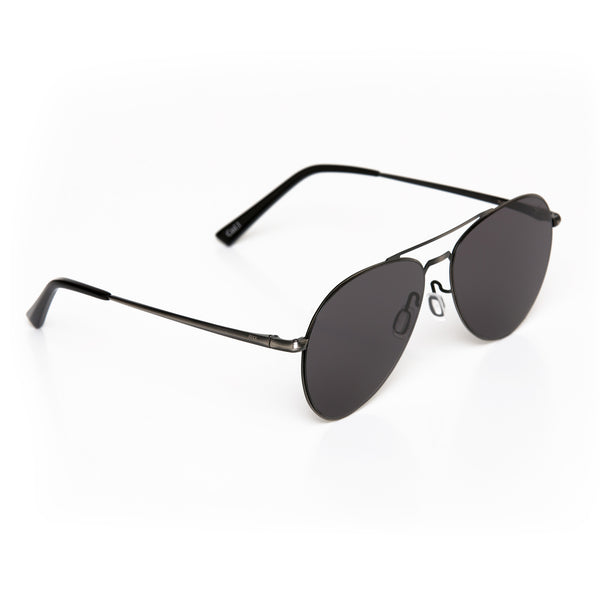 Flo' (Flexible-metal) - Black - RIXX Eyewear