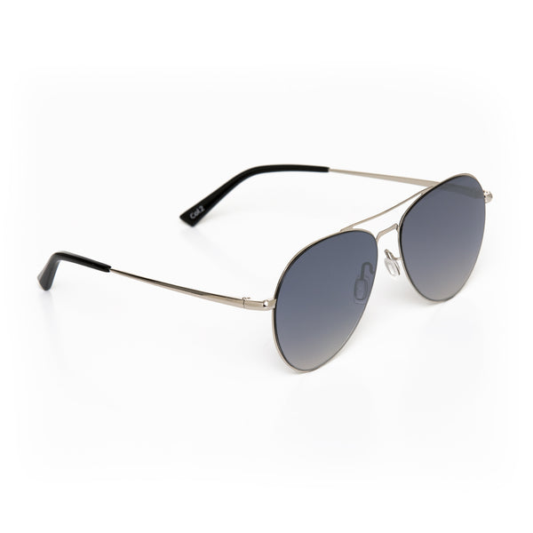 Flo' (Flexible-metal) - Silver - RIXX Eyewear