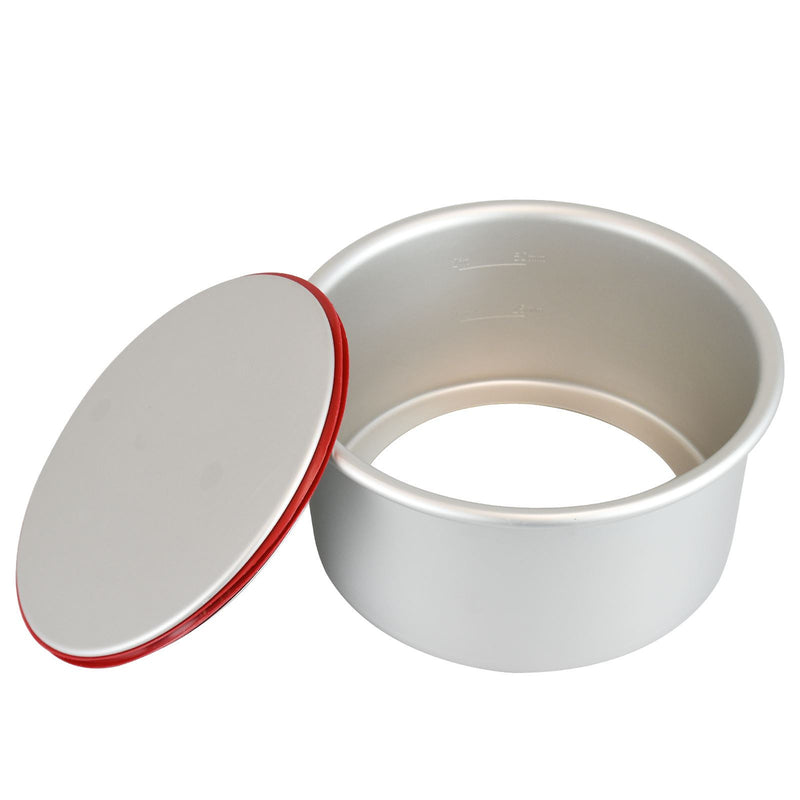 PushPan Deep Round Cake Pan Anodised Aluminium - KitchenarySg - 3