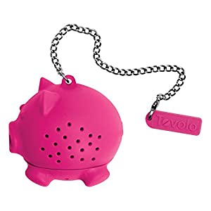 Silicone Tea Infuser - Pig - KitchenarySg - 3