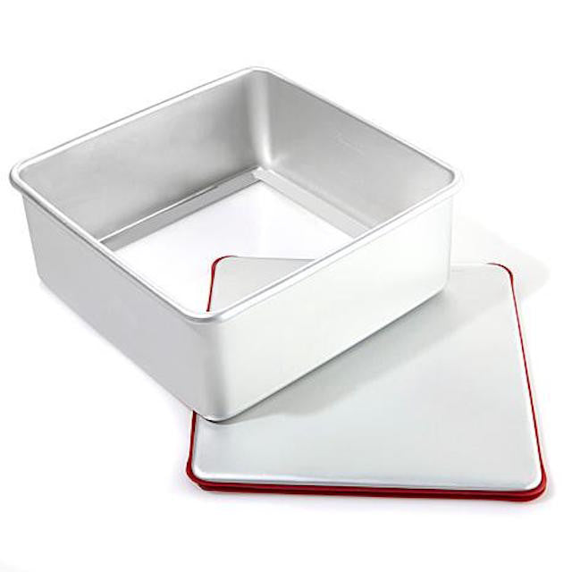 "PushPan 20cm (8"") Deep Square Pan - Anodised Aluminium - KitchenarySg - 4"
