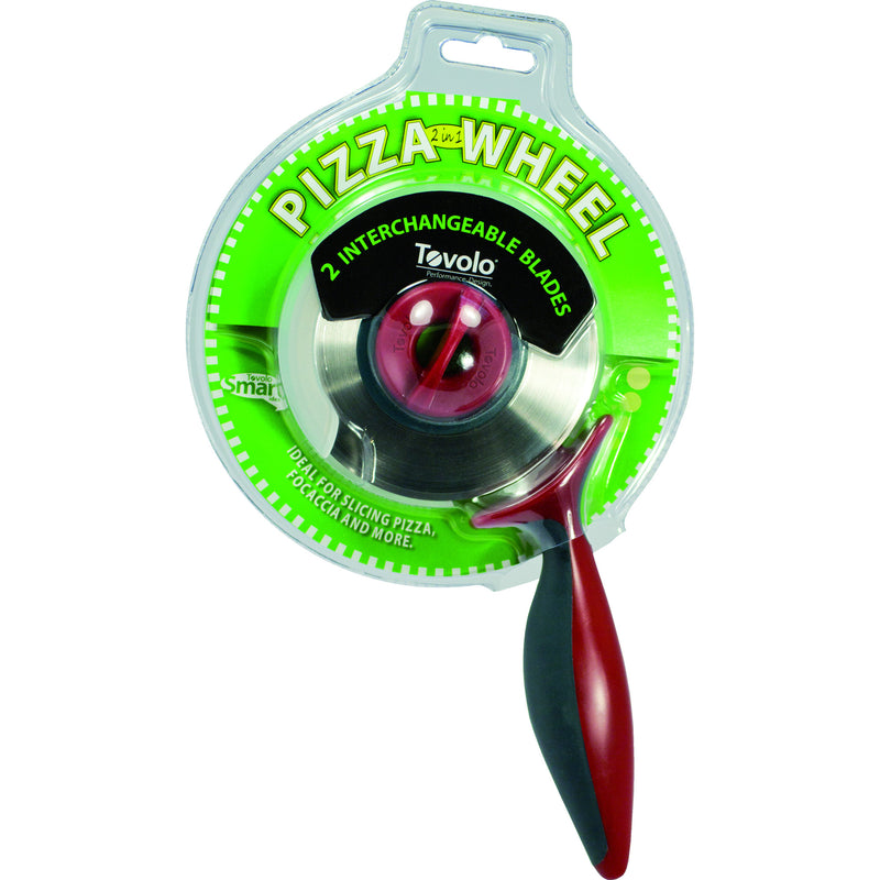 2-In-1 Pizza Wheel Cutter - KitchenarySg - 2