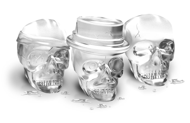Skull Ice Molds - KitchenarySg - 1