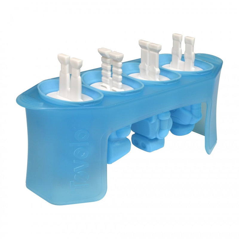 Popsicle Molds - Robot Pop Set of 4 - KitchenarySg - 1