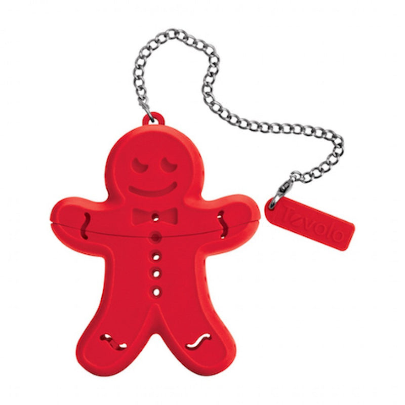 Silicone Tea Infuser - Gingerbread - KitchenarySg - 1