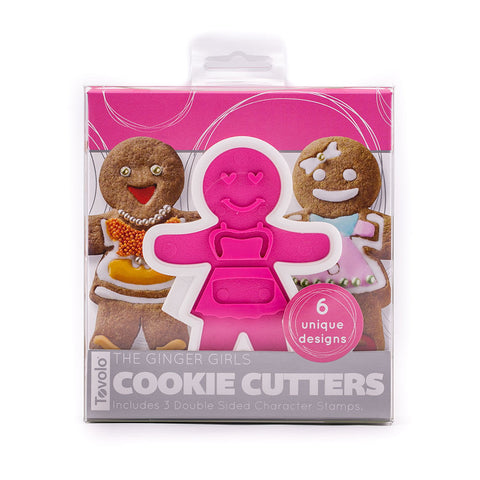Cookie Cutters - Ginger Girls Set of 6 - KitchenarySg - 1