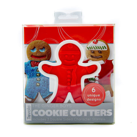 Cookie Cutters - Ginger Boys Set of 6 - KitchenarySg - 1