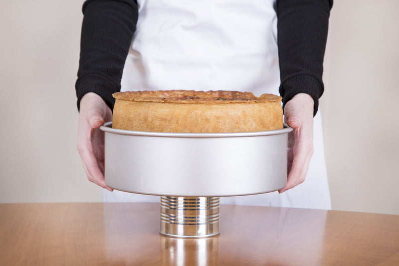 PushPan Deep Round Cake Pan - Anodised Aluminium