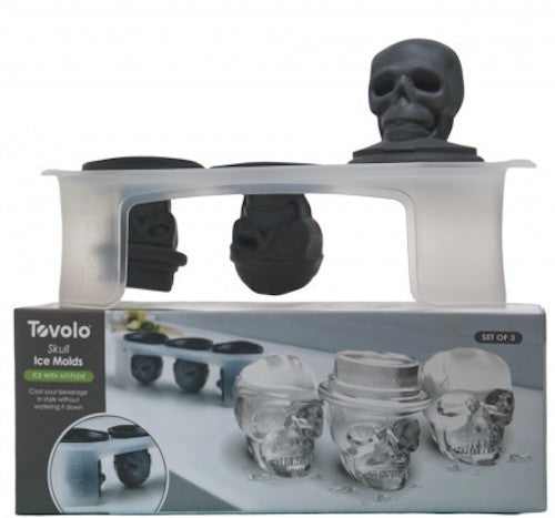 Skull Ice Molds - KitchenarySg - 8