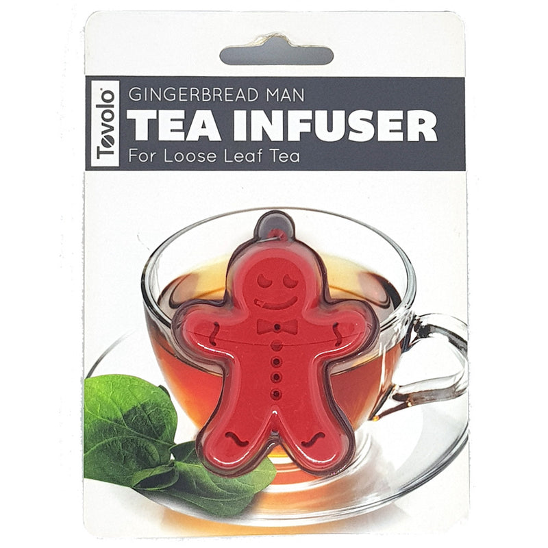 Silicone Tea Infuser - Gingerbread - KitchenarySg - 2
