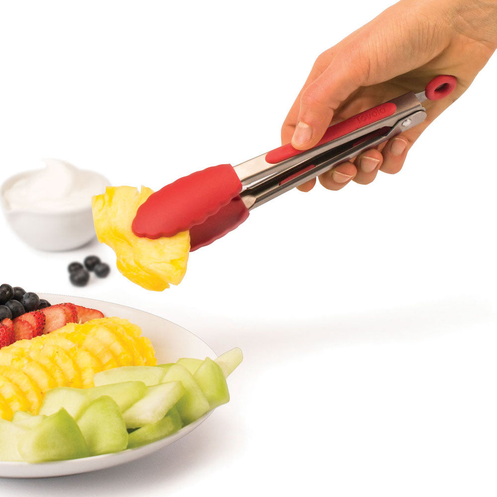 Mini Silicone Tongs - KitchenarySg - 5