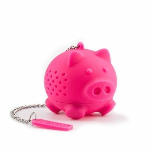 Silicone Tea Infuser - Pig - KitchenarySg - 1