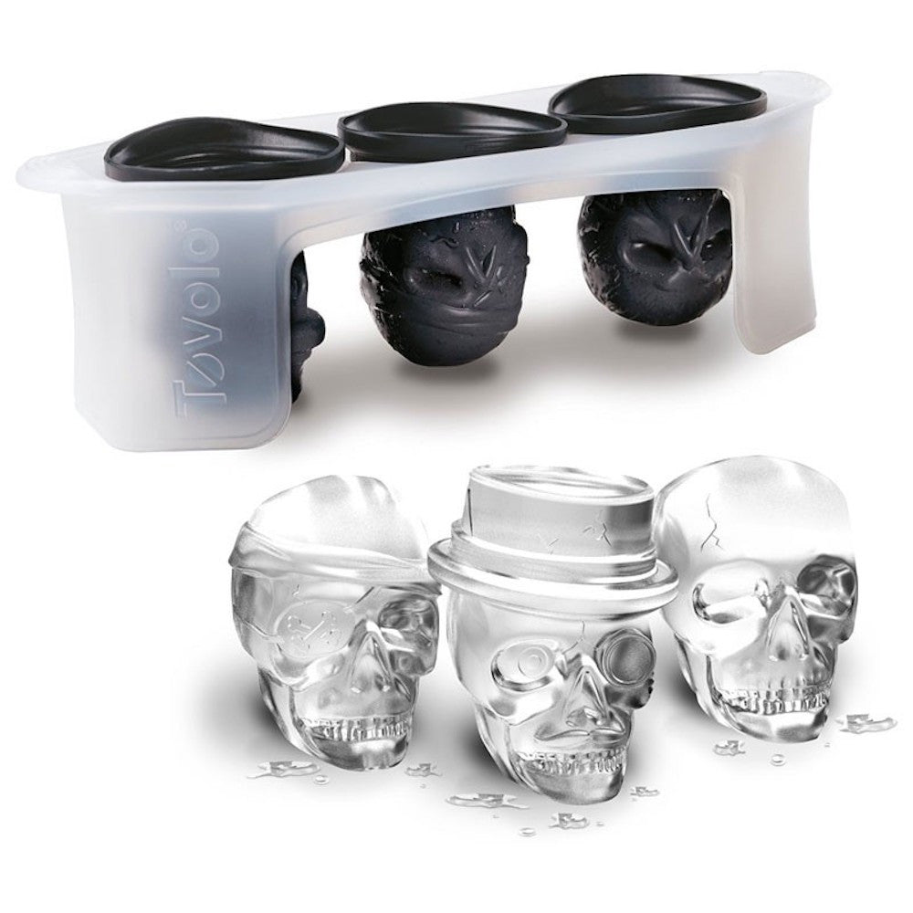 Skull Ice Molds - KitchenarySg - 9