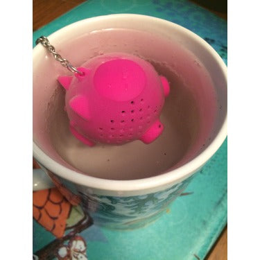 Silicone Tea Infuser - Pig - KitchenarySg - 4