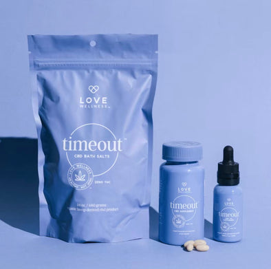 Here's Why We're OBSESSED With CBD & Our Newest Timeout Collection