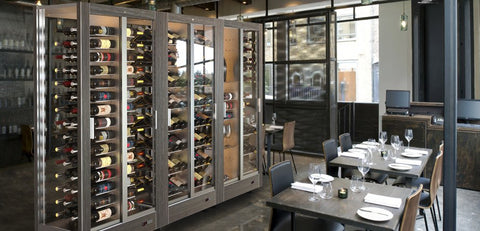 TECA M MAGNETIC MODULAR WINE WALL