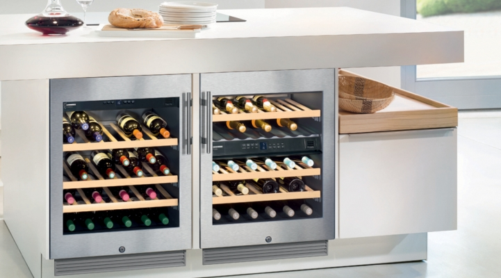 Liebherr Kitchen Wine Cabinets