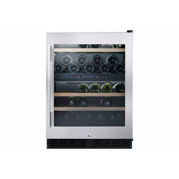 Fisher and Paykel - 32 Bottle Dual Zone Wine Cabinet RS60RDWX1