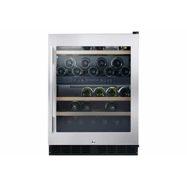 Fisher and Paykel - 32 Bottle Dual Zone Wine Cabinet RS60RDWX1 - [product _type] - [productvendor] - Elite Wine Refrigeration