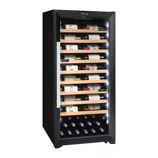 Climadiff - 98 Bottle Multipurpose Wine Cabinet CPF100B1