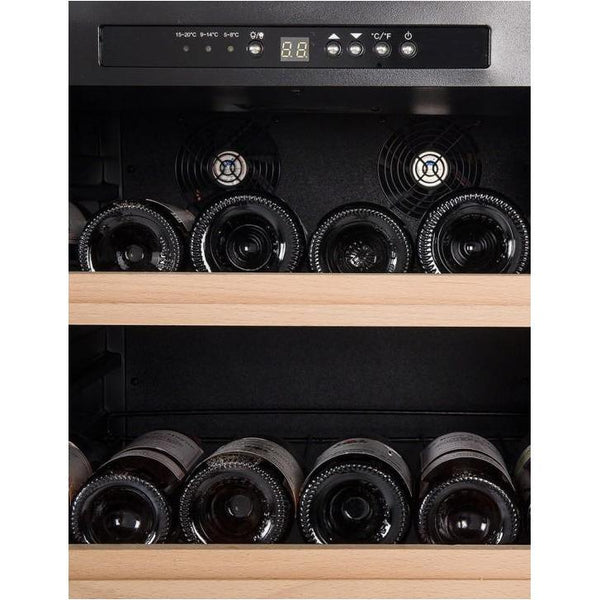 La Sommeliere - 165 Bottle Freestanding Single Zone Wine Cabinet CTV178
