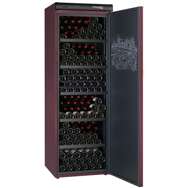 Climadiff - 264 Bottle Ageing Wine Cabinet CVP265