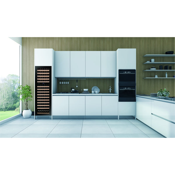 Dunavox - 114 bottle Integrated Handleless Dual Zone Wine Cooler DAB-114.288DSS.TO