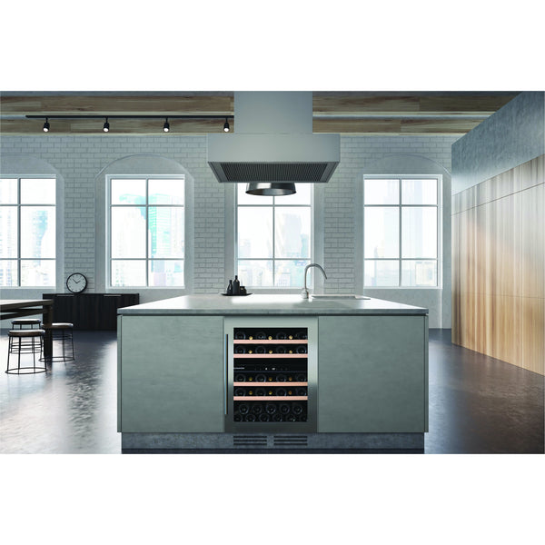 Dunavox - 600mm Built in Dual Zone Wine Cooler DAU-39.121DB - 3 Lighting Options