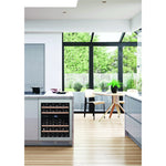 Dunavox - 600mm Handleless Built in Wine Cooler DAU-45.125DSS.TO