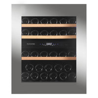 Dunavox - 32 bottle Handleless Dual Zone Wine Fridge DAV-32.81DSS.TO