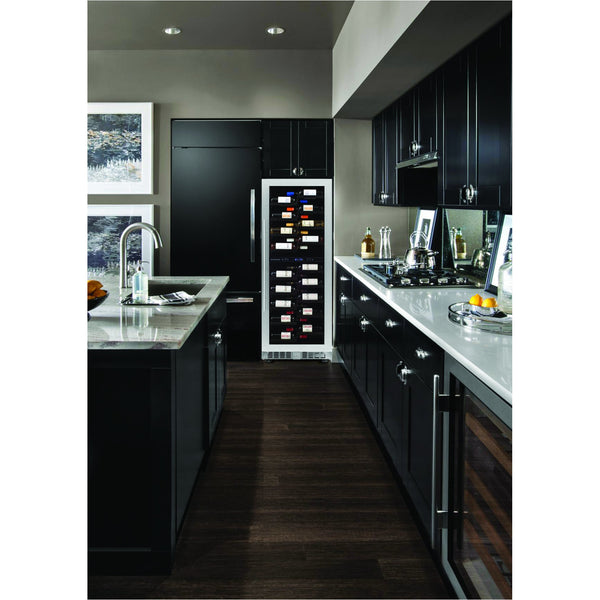 Dunavox - 104 bottle Freestanding / Built In Tall Dual Zone Wine Cooler DX-104.375DB