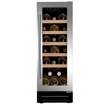 Dunavox - 19 bottle 300mm Built in Wine Cooler DAU-19.58SS