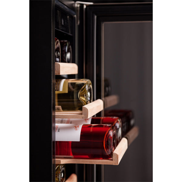 Dunavox - 19 bottle 300mm Built in Wine Cooler DAU-19.58SS - Elite Wine Refrigeration