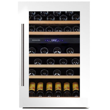 Dunavox - 57 bottle Integrated Dual Zone Wine Fridge DX-57.146DWK