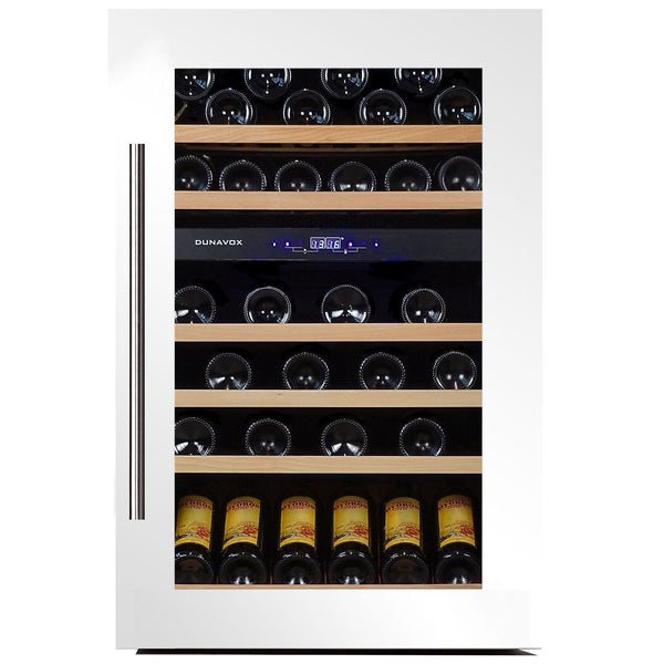 Dunavox - 57 bottle Fully Integrated Dual Zone Wine Fridge DX-57.146DWK - [product _type] - [productvendor] - Elite Wine Refrigeration